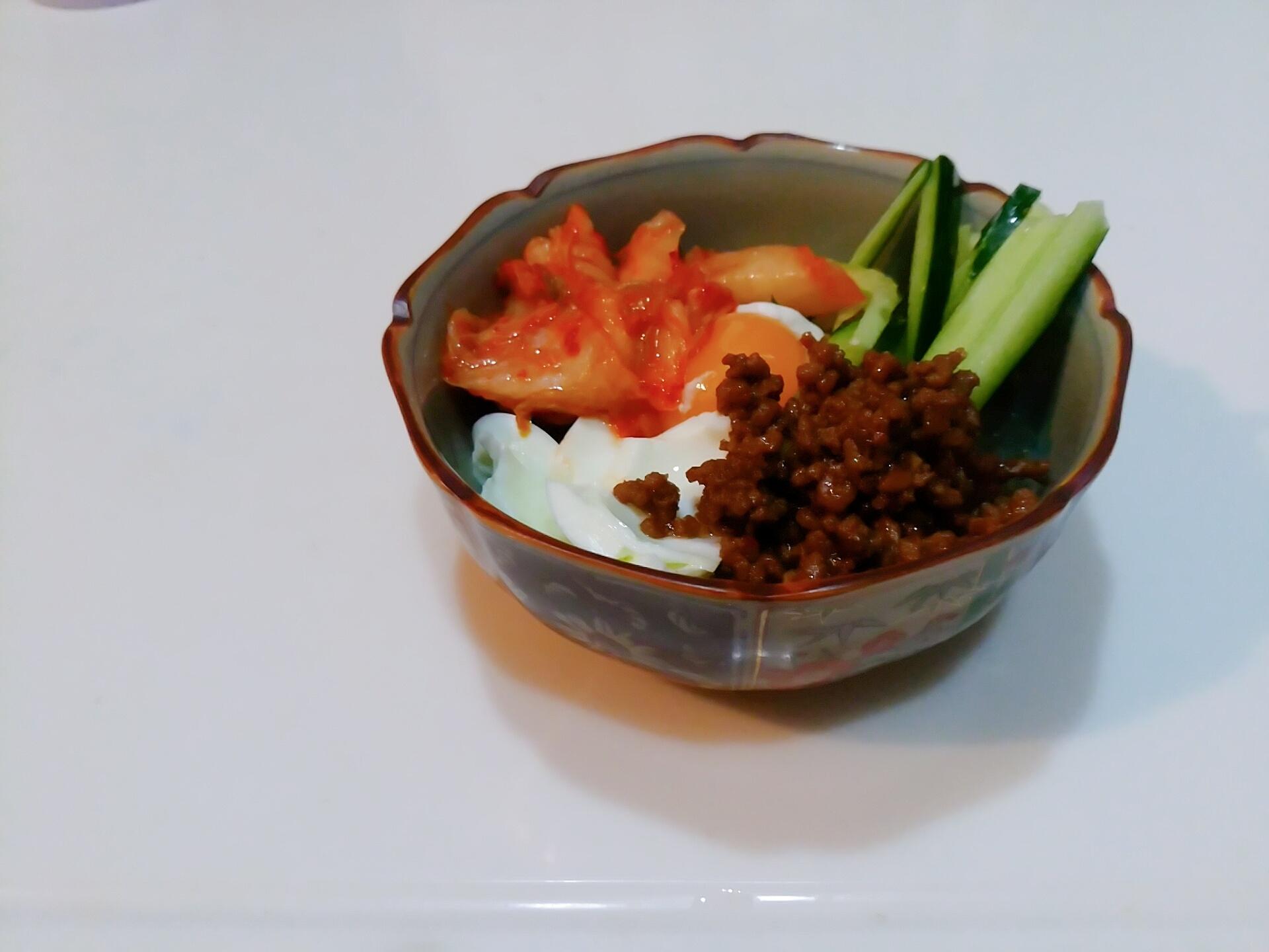 ジャージャー麺風
