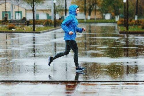 雨の日の練習